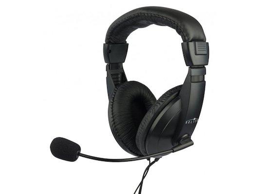 Наушники с микрофоном проводные Oklick HS-M137V