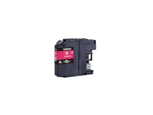 Картридж струйный Brother LC525XLM пурпурный для DCP-J100, DCP-J105, DCP-J200 (1300 стр)