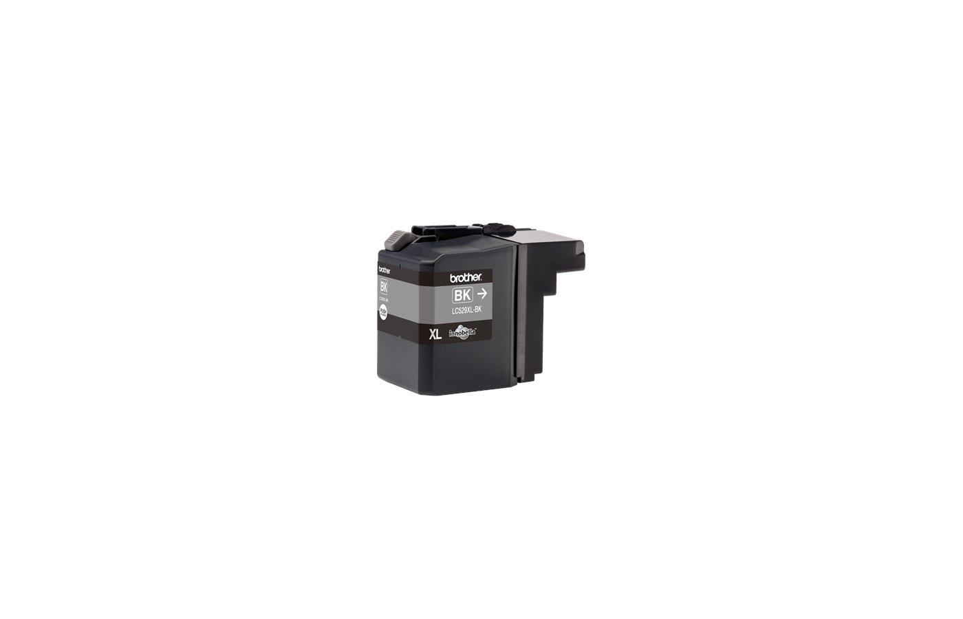 Картридж струйный Brother LC529XLBK чёрный для DCP-J100, DCP-J105, DCP-J200 (2400 стр)