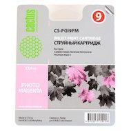 Картридж струйный Cactus CS-PGI9PM совместимый фото пурпурный для Canon Pixma X7000/MX7600/PRO9500 (13,4ml)