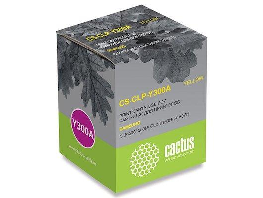 Картридж лазерный Cactus CS-CLP-Y300A