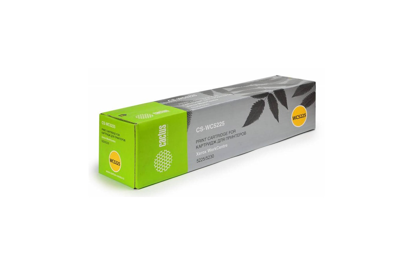 Картридж лазерный Cactus CS-WC5225 (106R01305) совместимый черный для Xerox 5225/5230 (30000стр.)