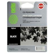 Фото Картридж струйный Cactus CS-PGI425BK совместимый черный для Canon Pixma iP4840/MG5140/5240/6140 (16ml)
