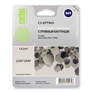 Картридж струйный Cactus CS-EPT969 совместимый светло-серый для Epson Stylus Photo R2880 (13ml)
