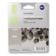 Картридж струйный Cactus CS-EPT967 совместимый серый для Epson Stylus Photo R2880 (13ml)