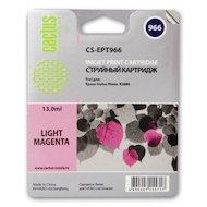 Картридж струйный Cactus CS-EPT966 совместимый светло-пурпурный для Epson Stylus Photo R2880 (13ml)