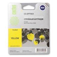 Картридж струйный Cactus CS-EPT964 совместимый желтый для Epson Stylus Photo R2880 (13ml)