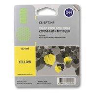 Картридж струйный Cactus CS-EPT344 совместимый желтый для Epson Stylus Photo 2100 (15,4ml)