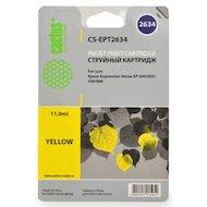 Картридж струйный Cactus CS-EPT2634 совместимый желтый для Epson Expression Home XP-600/605/700/800 (11 ml)