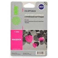 Картридж струйный Cactus CS-EPT2633 совместимый пурпурный для Epson Expression Home XP-600/605/700/800 (11ml)