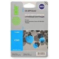Картридж струйный Cactus CS-EPT2632 совместимый голубой для Epson Expression Home XP-600/605/700/800 (11 ml)