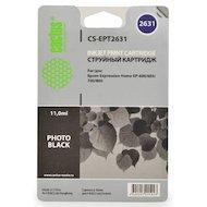 Картридж струйный Cactus CS-EPT2631 совместимый фото черный для Epson Expression Home XP-600/605/700/800 (11ml)