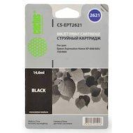 Картридж струйный Cactus CS-EPT2621 совместимый черный для Epson Expression Home XP-600/605/700/800 (14ml)