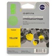 Картридж струйный Cactus CS-EPT1714 совместимый желтый для Epson Expression Home XP-33/103/203/207 (10ml)