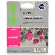Картридж струйный Cactus CS-EPT1713 совместимый пурпурный для Epson Expression Home XP-33/103/203/207 (10ml)