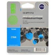 Картридж струйный Cactus CS-EPT1712 совместимый голубой для Epson Expression Home XP-33/103/203/207/303 (10ml)