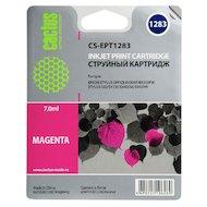 Картридж струйный Cactus CS-EPT1283 совместимый пурпурный для Epson Stylus S22/SX125/SX420/SX425 (7ml)