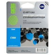 Картридж струйный Cactus CS-EPT1282 совместимый голубой для Epson Stylus S22/SX125/SX420/SX425 (7ml)