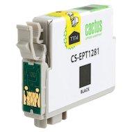 Фото Картридж струйный Cactus CS-EPT1281 совместимый черный для Epson Stylus S22/SX125/SX420/SX425 (10ml)