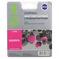 Картридж струйный Cactus CS-EPT0923 совместимый пурпурный для Epson Stylus C91/ CX4300/ T26/ T27/ TX106 (6,6ml)