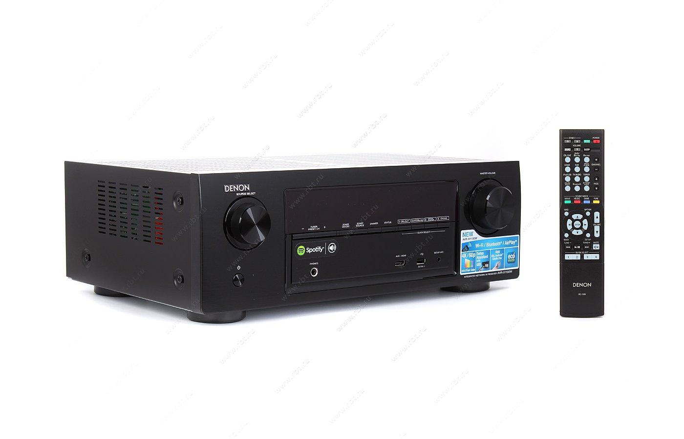 Ресивер DENON AVR-X1100 BL
