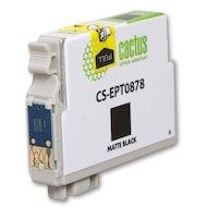 Фото Картридж струйный Cactus CS-EPT0878 совместимый черный матовый для Epson Stylus Photo R1900 (13,8ml)