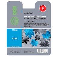 Картридж струйный Cactus CS-BCI6C совместимый голубой для Canon S800/ S820/ S900/ S9000 i550 (12ml)