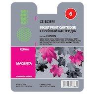 Картридж струйный Cactus CS-BCI6M совместимый пурпурный для Canon S800 S820 S900 S9000 i550 i560 (12ml)