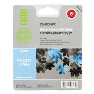 Картридж струйный Cactus CS-BCI6PC совместимый фото голубой для Canon S800/ S820/ S900 BJC-8200 (12ml)
