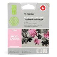 Картридж струйный Cactus CS-BCI6PM совместимый пурпурный для Canon S800 S820 S900 S9000 i905D i950S i960x (12ml)