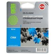 Фото Картридж струйный Cactus CS-CLI426C совместимый голубой для Canon MG5140 5240 6140 8140 MX884 (8,2ml)