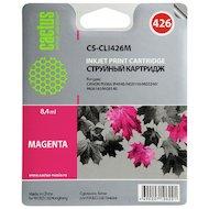 Фото Картридж струйный Cactus CS-CLI426M совместимый пурпурный для Canon MG5140 5240 6140 8140 MX884 (8,2ml)