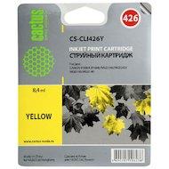 Картридж струйный Cactus CS-CLI426Y совместимый желтый для Canon MG5140/5240/6140/8140/MX884 (8,2ml)