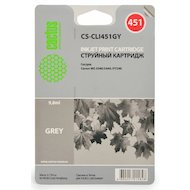 Картридж струйный Cactus CS-CLI451GY совместимый серый для Canon MG 6340/5440/IP7240 (9,8ml)