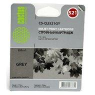 Картридж струйный Cactus CS-CLI521GY совместимый серый для Canon MP980 MP990 (8,2ml)