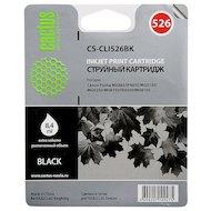 Картридж струйный Cactus CS-CLI526BK совместимый черный для Canon Pixma iP4850/MG5250/MG5150/iX6550/MX885 (8,2ml)