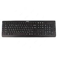 Клавиатура проводная A4Tech KD-600 черный USB slim Multimedia