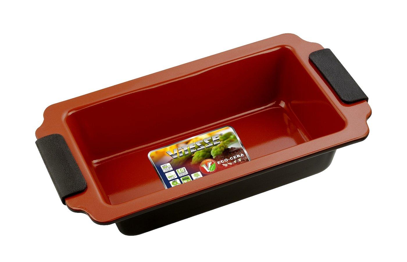 Форма для выпечки металлическая VITESSE VS-2350 Ф д/в13х23х6см керам