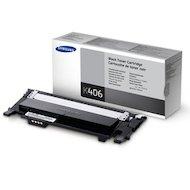 Картридж лазерный Samsung CLT-K406S/SEE черный для CLP-360/365, CLX-3300 (1500стр.)