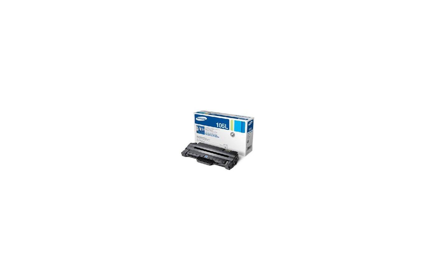 Картридж лазерный Samsung Samsung MLT-D105L черный для ML-1910/1950/SCX-4600/4623 (2500стр.)