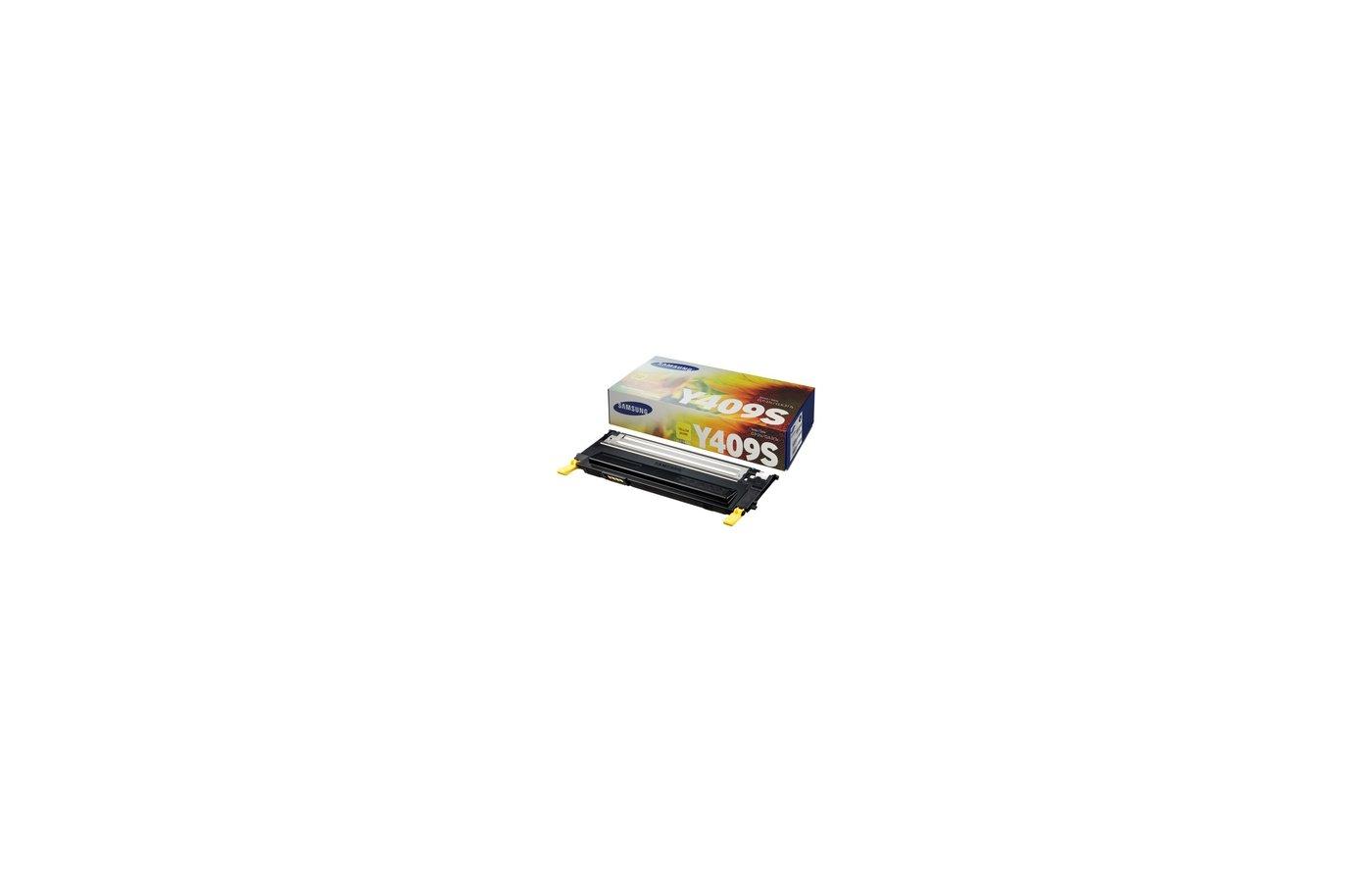 Картридж лазерный Samsung CLT-Y409S желтый для CLP-310/315, CLX-3170FN (1000стр.)
