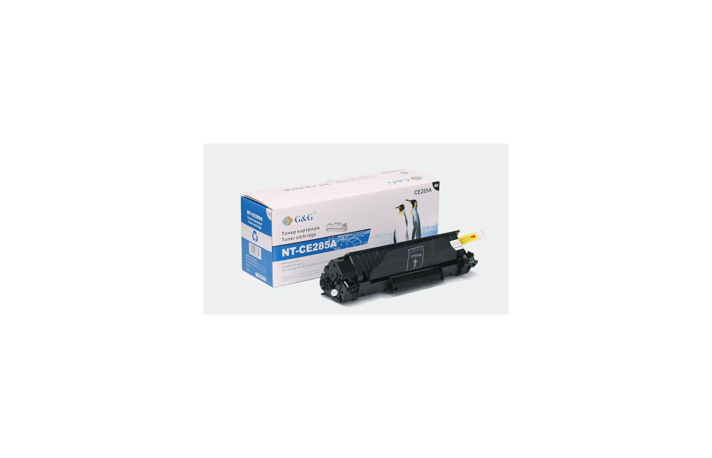Картридж лазерный GG NT-CE285A