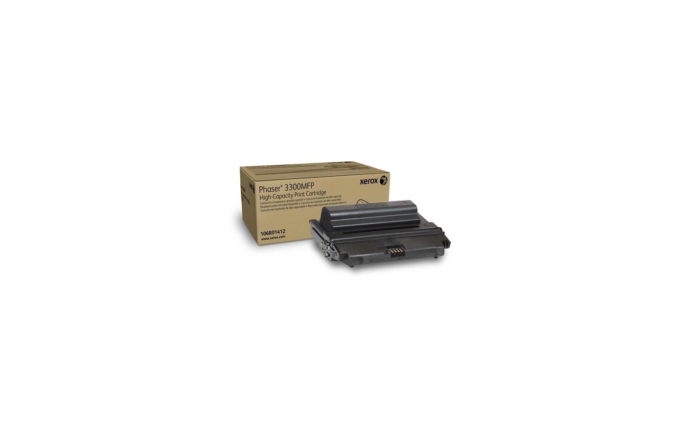 Картридж лазерный Xerox 106R01412 для Phaser 3300 (8 000 стр)