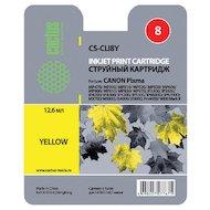 Фото Картридж струйный Cactus CS-CLI8Y совместимый желтый для Canon MP470 MP500 MP510 MP520 MP530 (12ml)