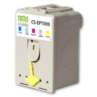 Фото Картридж струйный Cactus CS-EPT009 совместимый фото цветной для Epson Stylus Photo 1270/1290 (46ml)