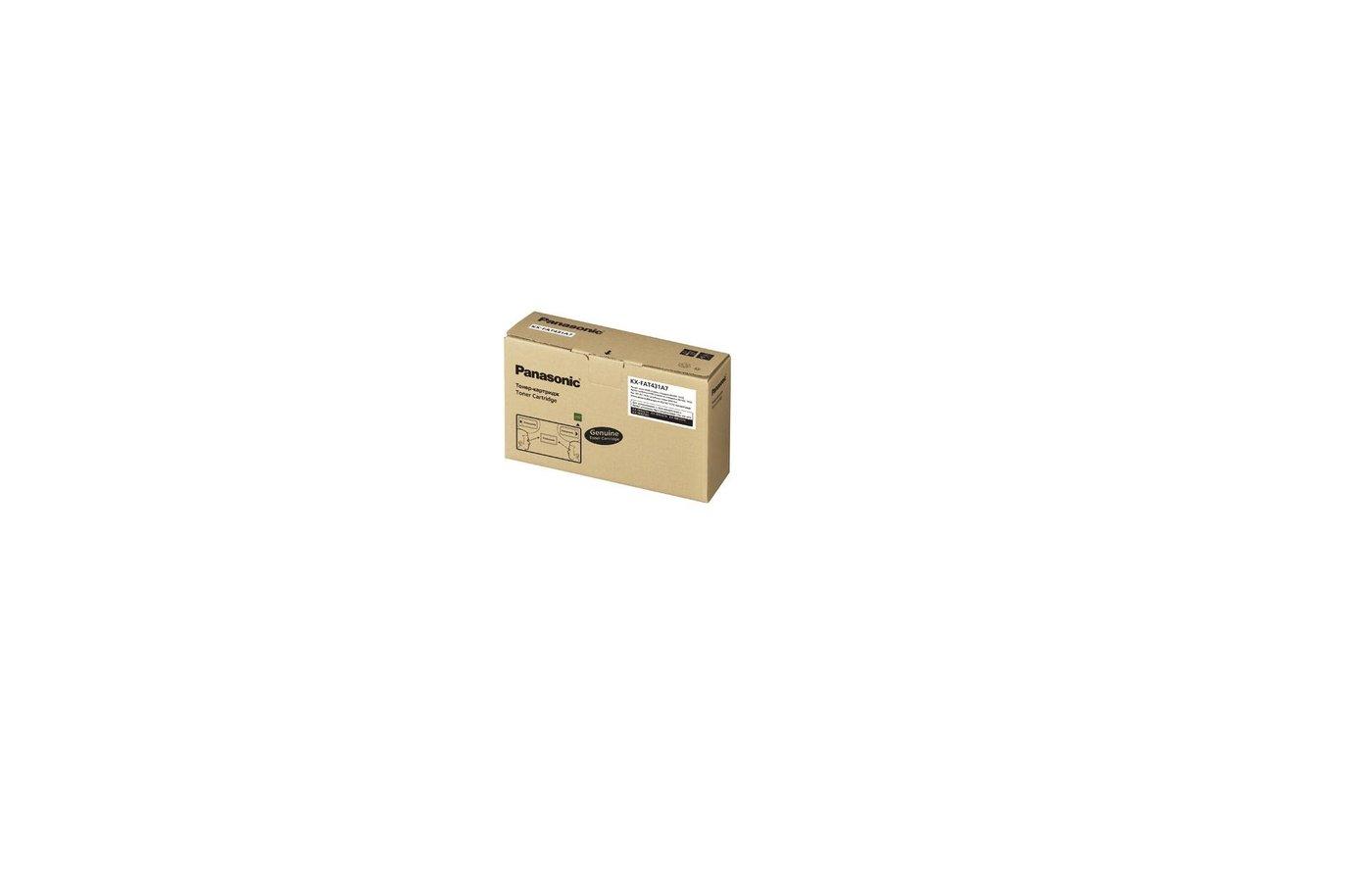 Картридж лазерный Panasonic KX-FAT431A7 черный KX-MB2230/2270/2510/2540 (6000стр.)
