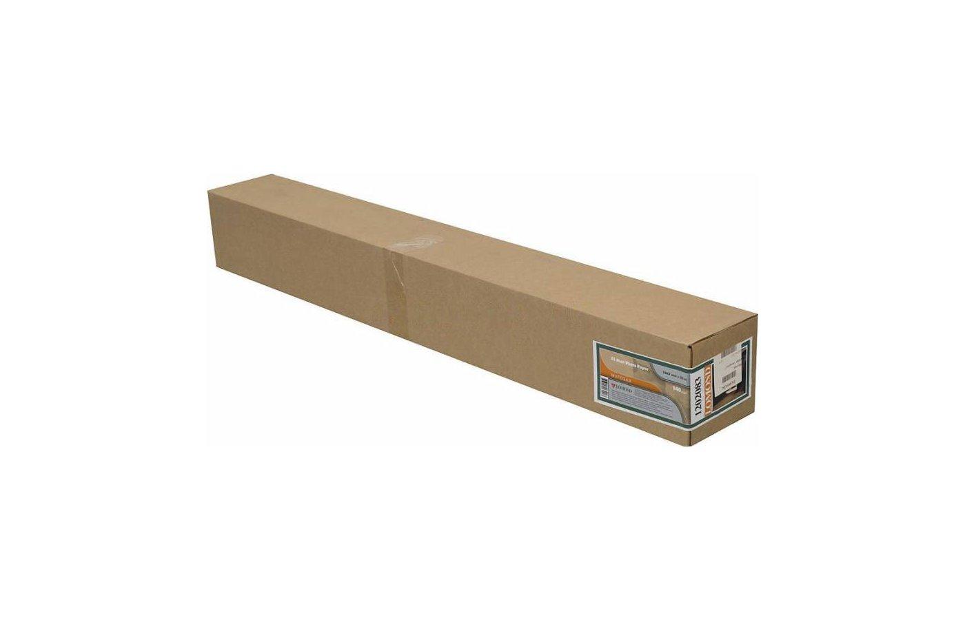 """Бумага Lomond 1202083 42""""(A0+)/1067мм х 30м/140г/м2/рул. матовая для струйной печати"""