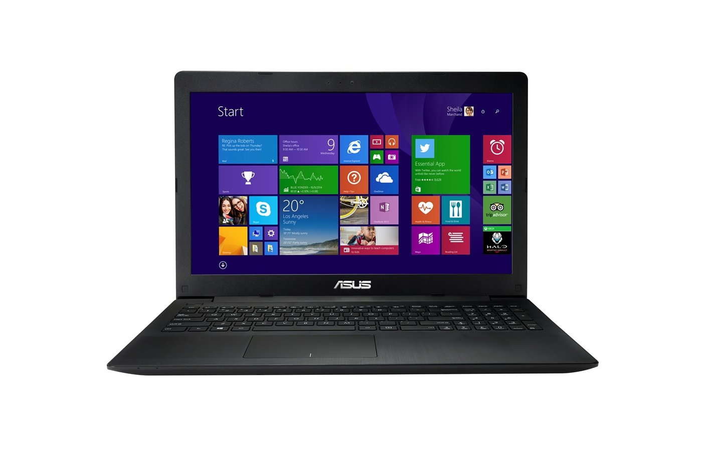 Ноутбук ASUS X553MA-BING-SX371B /90NB04X6-M14940/ intel N2840/2Gb/500Gb/15.6/WiFi/Win8 Black