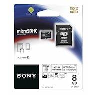 Карта памяти Sony microSDHC 8Gb Class 10 + адаптер (SR8NYAT)