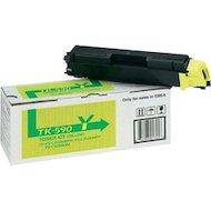 Картридж лазерный Kyocera TK-590Y желтый для FSC2026MFP/ 2126MFP type TK590Y (5 000 стр)
